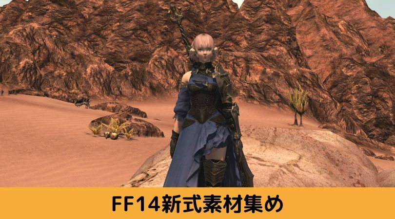 FF14暗黒騎士新式装備