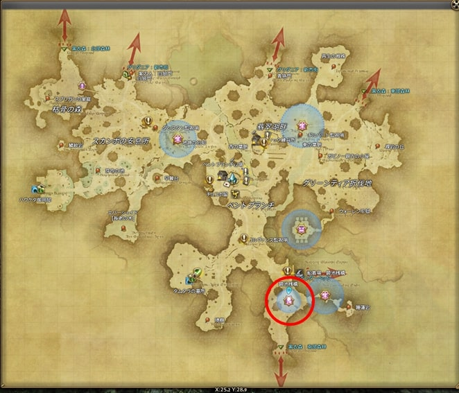 FF14エッグハント2020年_FATEの場所